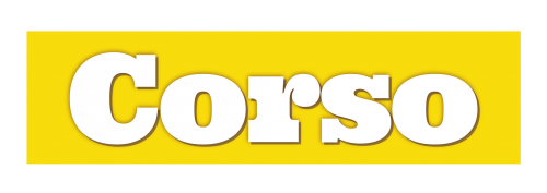 Corso Logo on yellow